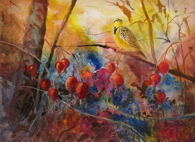 Meadowlark & Rosehips